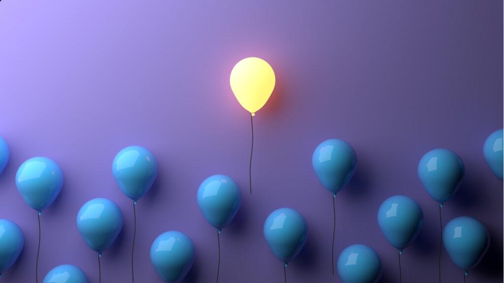 ballon lumineux