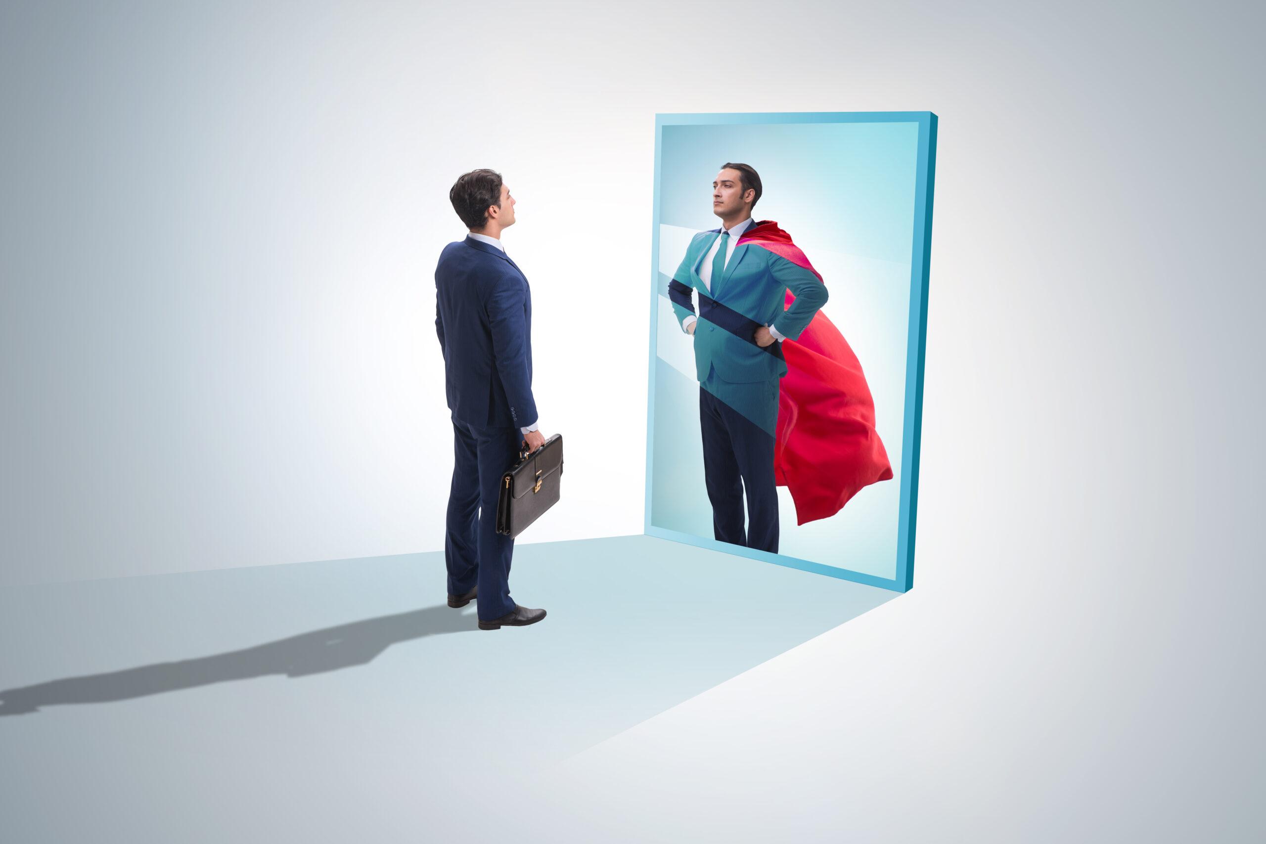 homme miroir