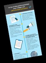 INFOGRAPHIE : le top 12 des points essentiels pour rédiger une offre d'emploi attractive